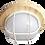 Thumbnail: Ecola GX53 LED НБО-03-60-021 светильник Круг накладной дерево
