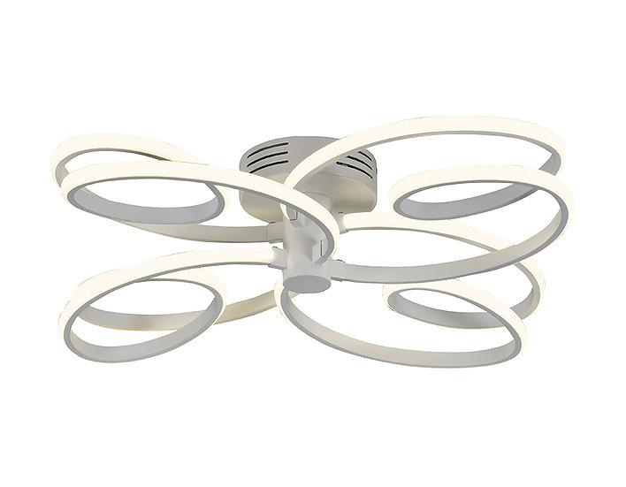 Потолочный светодиодный светильник FL333/4 WH белый 96W 4200K