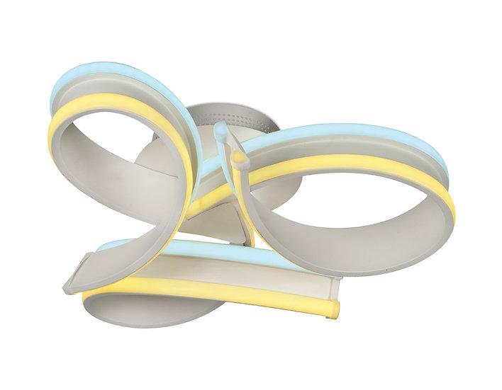 Потолочный светодиодный светильник FL125/3 WH 84W 3000K/6400K
