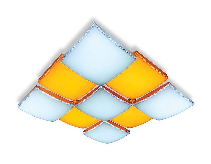 Потолочный светодиодный светильник с пультом FP2329 WH 288W