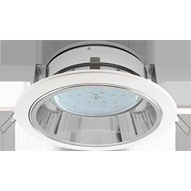Встраиваемый светильник GX53 H2R с рефлектором, металл