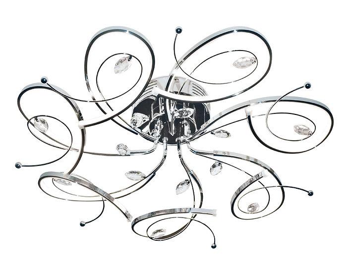 Потолочный светодиодный светильник LC562/7 CH 98W 4200K