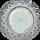 Thumbnail: Встраиваемый светильник GX53 H4 5360 Круг со стразами Корона, стекло