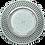 Thumbnail: Встраиваемый светильник GX53 H4 5352/5364Круг со стразами, стекло