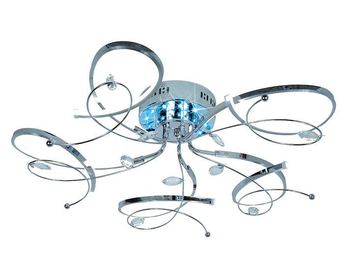 Потолочный светодиодный светильник с пультом LC561/5 CH 70W 4200K