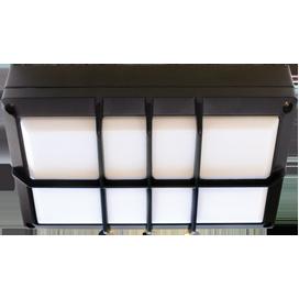 Ecola GX53 LED B4158S светильник накладной IP65 матовый Прямоугольник с решеткой