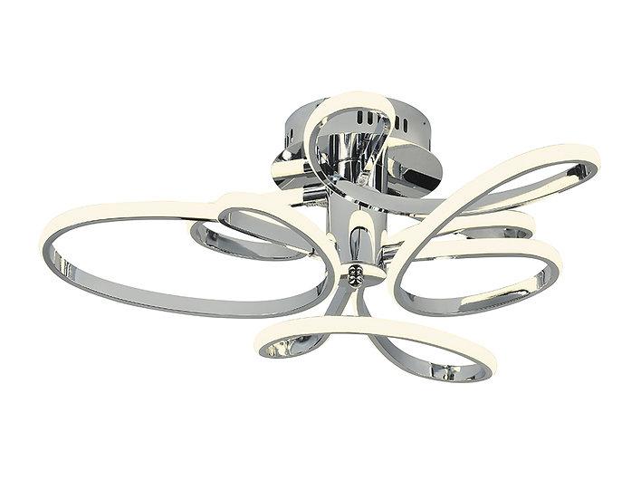 Потолочный светодиодный светильник FL336/3 CH хром 78W 4200K