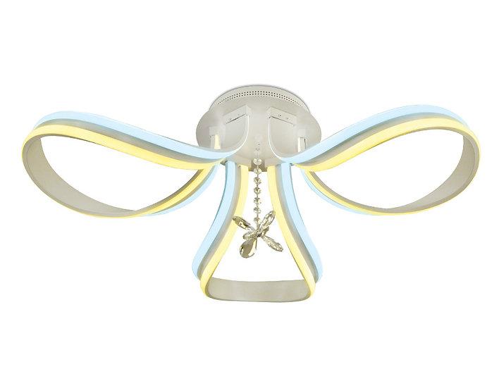 Потолочный светодиодный светильник с пультом FL150/3 WH 120W 700*700*270