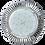 """Thumbnail: Встраиваемый светильник GX53 H4 DL5383 """"Рифленые реснички"""", алюминий"""