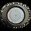 Thumbnail: Встраиваемый светильник GX53 FT3238 Эллипс, металл