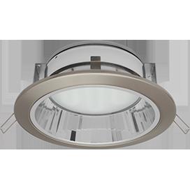 Встраиваемый светильник GX70-H6R с рефлектором, металл
