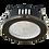 Thumbnail: Светильник Gx53 H9 защищенный IP65,металл, стенкло