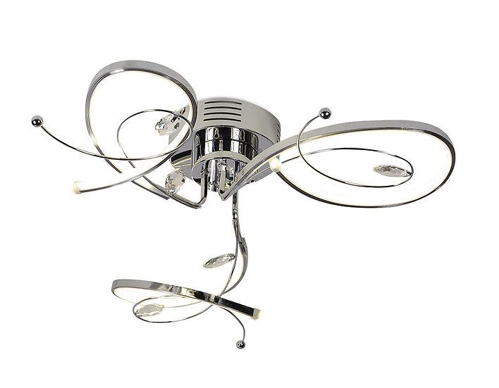 Потолочный светодиодный светильник LC560/3 CH 36W 4200K