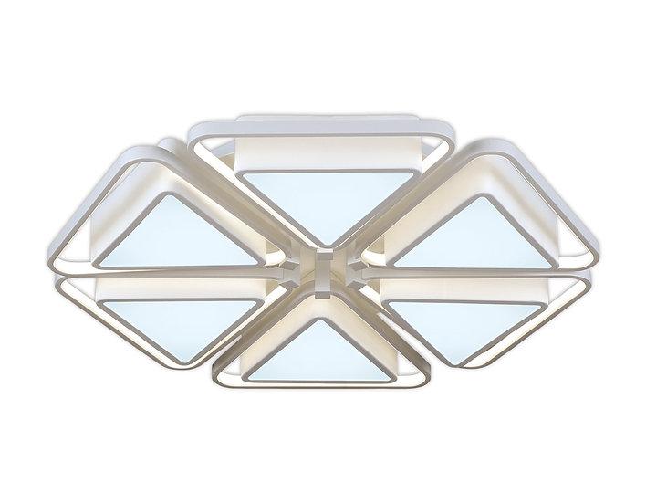 Потолочный светодиодный светильник с пультом FG2501/6 WH 156W