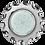 Thumbnail: Встраиваемый светильник GX53 H4 5313 Круг с вогнутыми гранями, металл-стекло