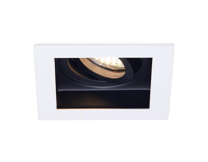 Точечный поворотный светильник MR16 TN181 WH/BK белый/черный