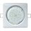 Thumbnail: Встраиваемый светильник GX53 H4 Квадрат выпуклый, металл