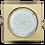 Thumbnail: Встраиваемый светильник GX53 H4 Квадрат плоский, металл