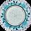"""Thumbnail: GX53 H4 LD7071 Светильник встр. искристый с подсветкой """"Розы"""""""