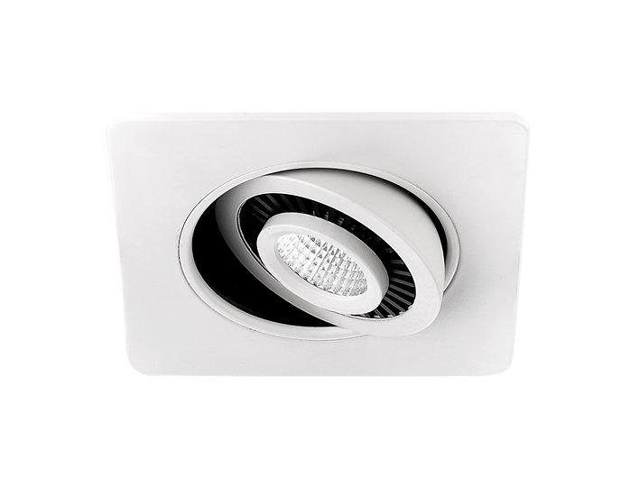 Встраиваемый точечный светодиодный светильник с поворотным механизмом S506