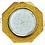 Thumbnail: Встраиваемый светильник GX53 H4 5312 8-угольник с прямыми гранями, металл-стекло