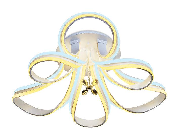 Потолочный светодиодный светильник с пультом FL152/6 WH 240W