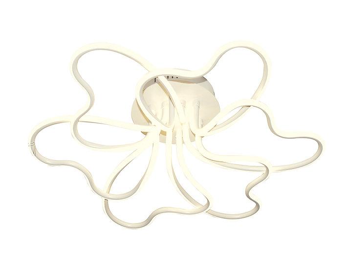Потолочный светодиодный светильник FL340/6 WH белый 102W 4200K