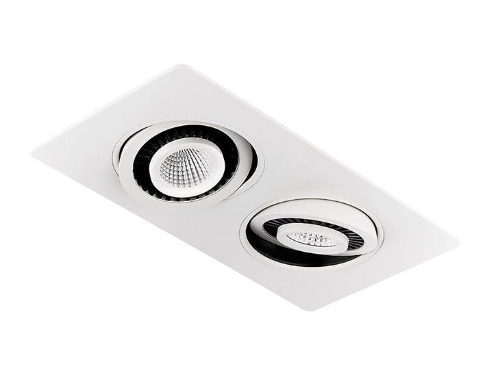 Встраиваемый точечный светодиодный светильник с поворотным механизмом S506/2