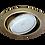Thumbnail: Тонкий встраиваемый поворотный светильник GX53 Ft9073, металл