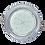 Thumbnail: Двухцветный тонкий светильник GX53 H4 9022, металл