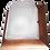 Thumbnail: Ecola GX53 LED НББ-04-60-022 светильник Квадрат накладной дерево