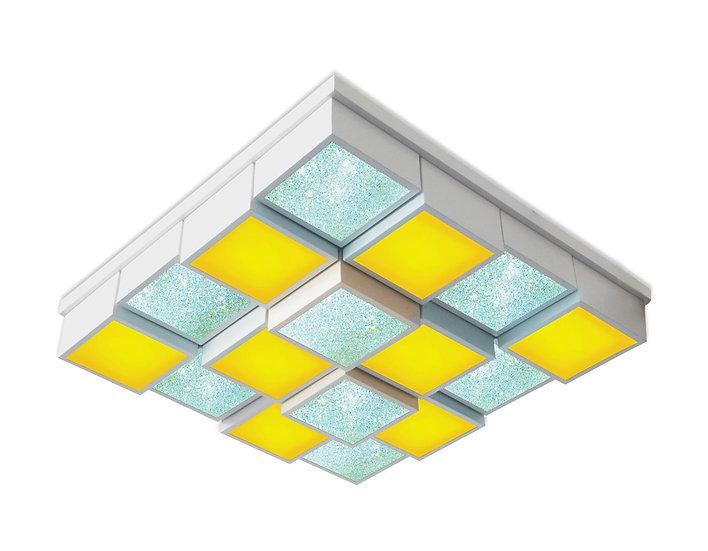 Потолочный светодиодный светильник с пультом FS1550 WH/SD 192W