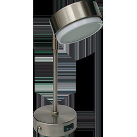 Поворотный светильник GX53 на длинном кронштейне, металл