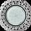 """Thumbnail: GX53 H4 LD7040 Светильник встр. искристый с подсветкой """"Бабочки"""""""