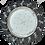 Thumbnail: Встраиваемый светильник GX53 H4 5361 Круг с крупными стразами Елочка, стекло