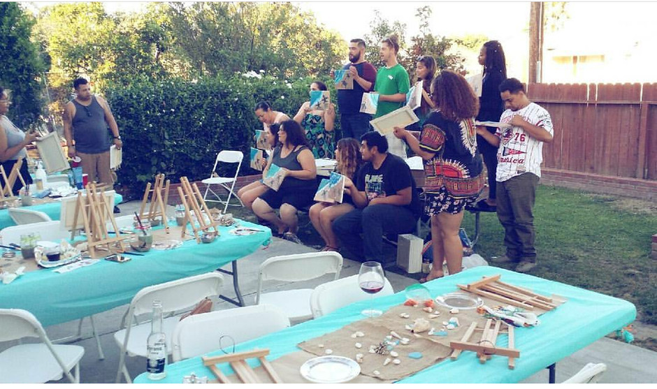Summer Paint Party #1