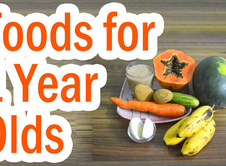 Foods Not to Feed a One Year Old