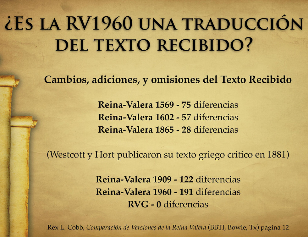 Received Text in Reina Valera -Spanish-1