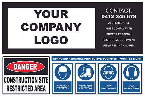 Mandatory Custom Signage