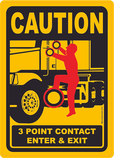 Maintain Three Point Contact