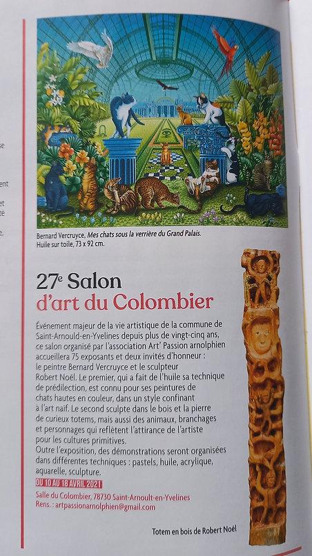 ARTICLE 27ème Salon d'Art du Colombier S