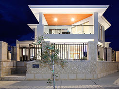 Two story home design