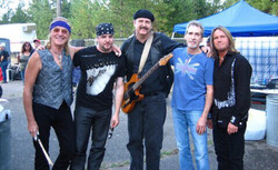 1st time opening for FOGHAT