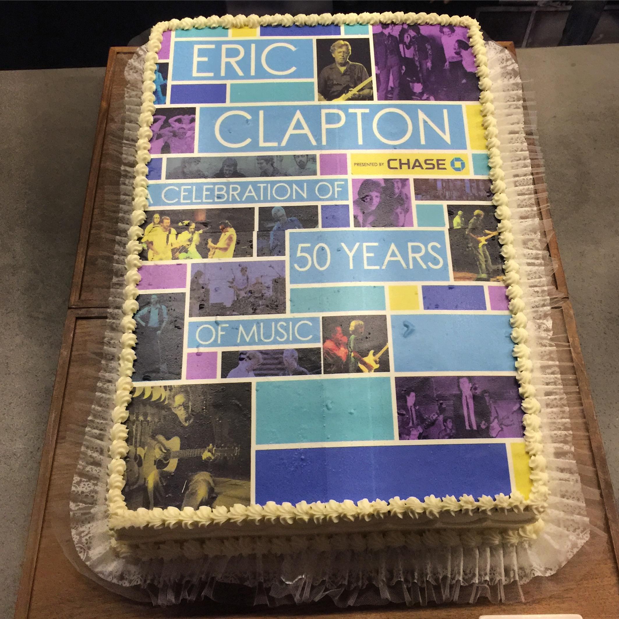LA FORUM CLAPTON CAKE