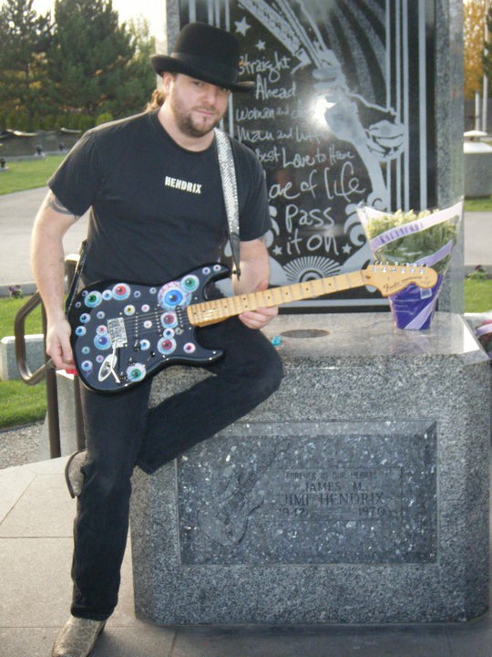 Jimi Hendrix Memorial 11-27-2009