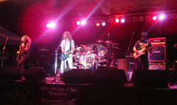 Opening for FOGHAT 2nd time