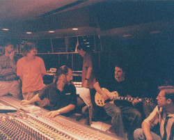 """Tracking guitars for """"Tears To God"""""""