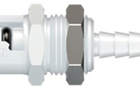 Panel Mount Plug, Non-Valved