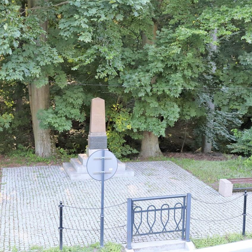 Denkmal für den Erbauer Georg Steen