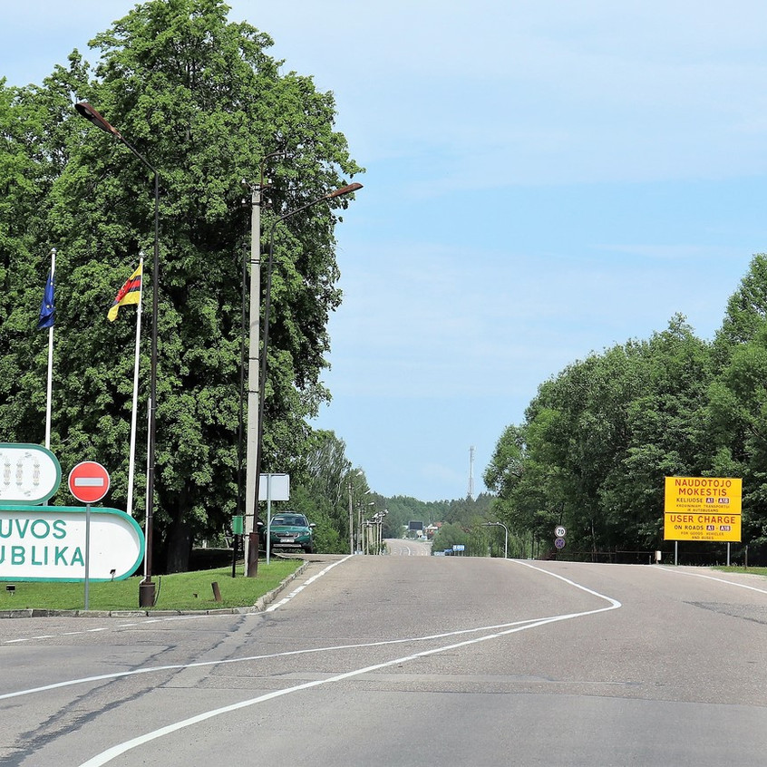 Grenzübergang Litauen